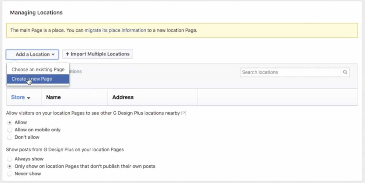 how to get video profile on facebook business page